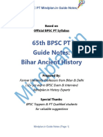 H - Bihar Ancient History