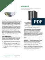 Cutsheet Saitel DP en Rev3.0