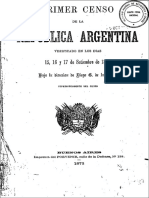 Censo Nacional 1869