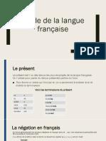Résumé de l'étude française