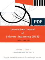 International Journal of Software Engineering (IJSE) V1 I3