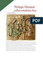El p. Philippe Péneaud- Iconografía Románica Hoy