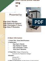 Cacao Coat Separator-presentation