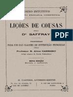Lemad Dh Usp Licoes de Cousas Saffray 1902