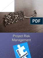 Project Risk Mnagment Final