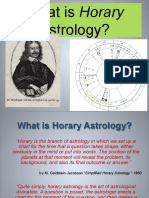 What is Horary - Western Astro