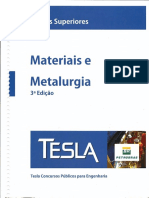 Materiais e Metalurgia