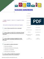 Ejercicios Hardware