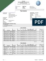 Service Invoice 5444