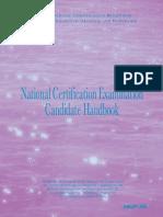NCBTMB Exam Handbook Jan06