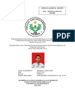 Review Jurnal Senam Ritmik