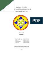 Proposal Pt Aqua Danone