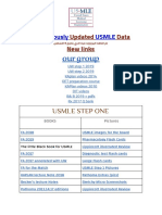 Continuously Updated ALL USMLE DATA