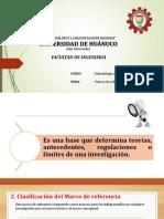 Marcos de Referencia de La Investigacion