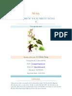 Sổ Tay Cây Thuốc và Vị Thuốc Đông Y, Lê Đình Sáng (sưu tầm)