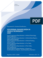 Vocational Qualification in Vechicle Technology