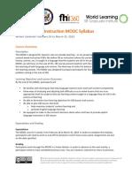 WL CBI MOOC Syllabus_Winter 2019