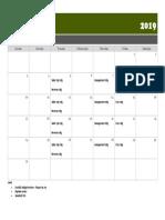 Mtg Calendar