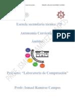 Dosificacion Trimestral Anual Del Ciclo 2018-2019