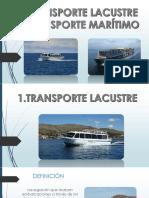 Trasporte Lacustre y Maritimo