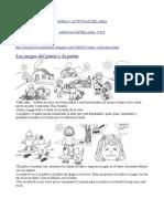 Actividad  área lengua castellana
