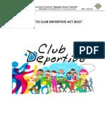 Proyecto de Clubes Deportivo 02.03.15