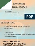 Sentential