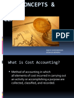 Cost Concepts & Classification