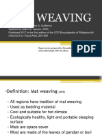 Mat Weaving