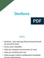 Devforce Init