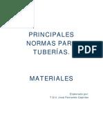 Principales Normas Para Tuberías