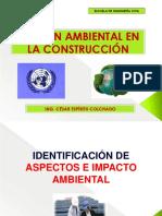 1. Diapositivas de Clases Identificacion de Aspectos e Impacto Ambiental