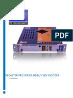 Vecaster Series Manual