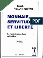 Monnaie, servitude et liberté Tchundjang Pouemi
