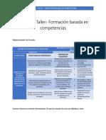AA1 Taller - Formación Basada en Competencias