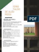 Cementerio San Cataldo de Aldo Rossi