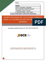 Anexo 02 -1 B Bases Para La Contratación Del Servicio de Limpieza y Desinfección - GRUPO 1