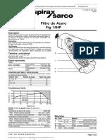 Spirax Sarco (IT) - Filtro en Y Modelo 14HP (TI-P185-01-ES-IsS1)