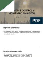 CLASE 11 - PLANES DE CONTROL Y MONITOREO DE CONTAMINACIÓN AMBIENTAL.pptx