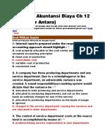 Soal Kuis Akuntansi Biaya Ch 12.doc