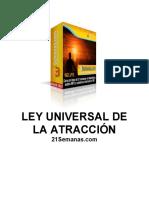 ley universal de la atraccion