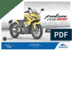 Manual de Partes RS200
