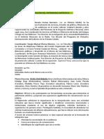 INTERPRETACIÓN DEL PATRIMONIO ARTÍSTICO