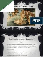 Los topicos literarios