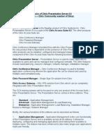 Citrix PS 4.0 Basics[1]