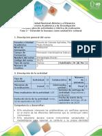 Guía de Actividades y Rúbrica de Evaluación - Fase 2 - Entender Lo Humano Como Unidad Bio-cultural