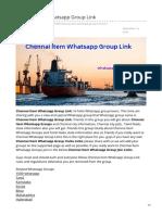 Whatsappgrouplink.org-Chennai Item Whatsapp Group Link