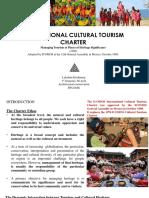 International Cultural Tourism Chapter