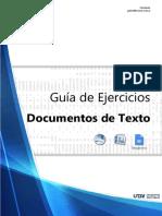 Guía de Ejercicios Word (2019)