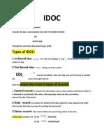 IDOC PPT
